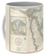 1805 Cary Map Of Egypt Coffee Mug