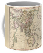 1806 Cary Map Of Asia Polynesia And Australia Coffee Mug