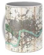 1806 Mogg Pocket Or Case Map Of London Coffee Mug