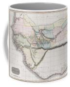 1813 Pinkerton Map Of Western Africa Coffee Mug