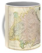 1814 Thomson Map Of Bavaria Germany Coffee Mug