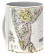 1814 Thomson Map Of India Coffee Mug