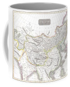 1814 Thomson Map Of Tartary  Mongolia Tibet Coffee Mug