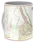 1818 Pinkerton Map Of Abyssinia  Ethiopia  Sudan And Nubia Coffee Mug