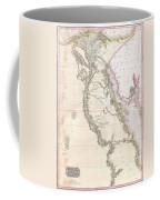 1818 Pinkerton Map Of Egypt Coffee Mug
