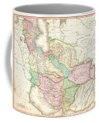 1818 Pinkerton Map Of Persia  Coffee Mug