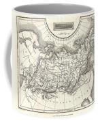 1826 Assheton Map Of Russia In Asia Coffee Mug