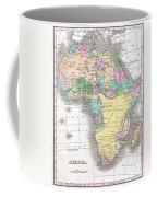 1827 Finley Map Of Africa Coffee Mug