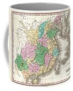 1827 Finley Map Of China  Coffee Mug