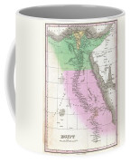 1827 Finley Map Of Egypt Coffee Mug