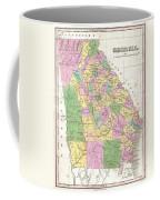 1827 Finley Map Of Georgia Coffee Mug