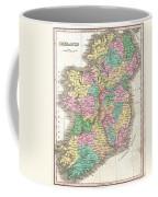 1827 Finley Map Of Ireland  Coffee Mug