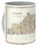 1827 Finley Map Of Kentucky Coffee Mug