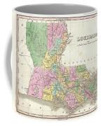 1827 Finley Map Of Louisiana Coffee Mug