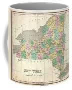 1827 Finley Map Of New York State Coffee Mug