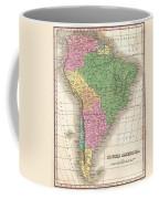 1827 Finley Map Of South America Coffee Mug