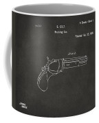 1836 First Colt Revolver Patent Artwork - Gray Coffee Mug