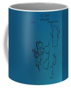 1837 Riding Saddle Patent Coffee Mug