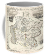1851 Tallis And Rapkin Map Of Independent Tartary  Coffee Mug