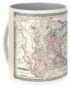 1855 Colton Map Of Minnesota Coffee Mug