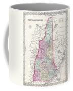 1855 Colton Map Of New Hampshire Coffee Mug