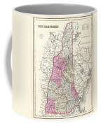 1857 Colton Map Of New Hampshire Coffee Mug