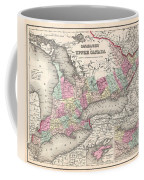 1857 Colton Map Of Ontario Canada Coffee Mug
