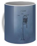 1858 Trumpet Patent Coffee Mug