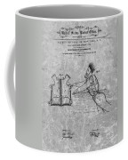 1869 Life Preserver Patent Charcoal Coffee Mug