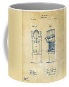 1876 Beer Keg Cooler Patent Artwork - Vintage Coffee Mug