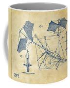 1879 Quinby Aerial Ship Patent Minimal - Vintage Coffee Mug by Nikki Marie Smith