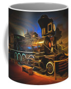 1880 Steam Locomotive  Coffee Mug