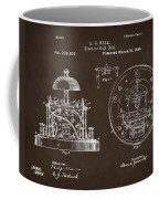 1881 Alexander Graham Bell Electric Call Bell Patent Espresso Coffee Mug