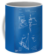 1881 Taylor Camera Obscura Patent Blueprint Coffee Mug