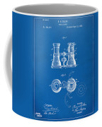 1882 Opera Glass Patent Artwork - Blueprint Coffee Mug