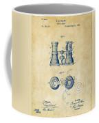 1882 Opera Glass Patent Artwork - Vintage Coffee Mug