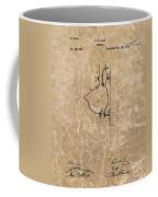 1882 Urinal Patent Coffee Mug