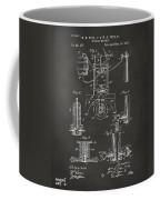 1890 Bottling Machine Patent Artwork Gray Coffee Mug