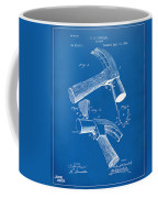 1890 Hammer Patent Artwork - Blueprint Coffee Mug
