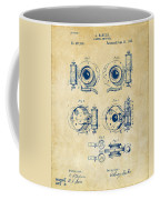 1892 Barker Camera Shutter Patent Vintage Coffee Mug