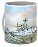 1895 - The Brandenburg Squadron At Sea - Color Coffee Mug