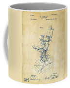 1896 Dental Chair Patent Vintage Coffee Mug