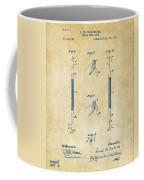 1896 Dental Excavator Patent Vintage Coffee Mug