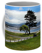 18th At Pebble Beach Panorama Coffee Mug