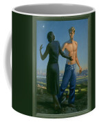 19. Jesus Appears To Mary / From The Passion Of Christ - A Gay Vision Coffee Mug