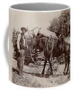 1900 Cowboy Coffee Mug