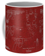 1900 Landstad Automatic Revolver Patent Coffee Mug