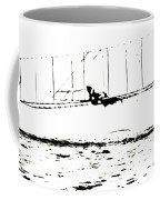 1902 Wright Brothers Glider Tests Coffee Mug