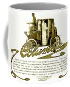 1903 - Columbia Motor Carriage Advertisement Coffee Mug