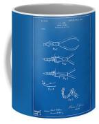 1903 Dental Pliers Patent Blueprint Coffee Mug